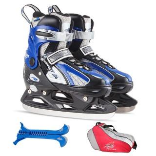儿童成人可调滑冰鞋