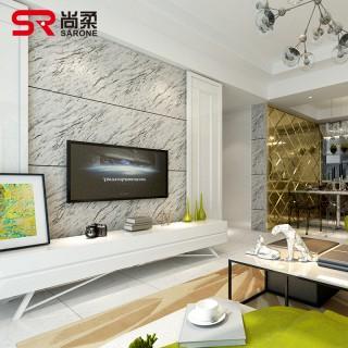 仿大理石壁纸现代简约电视背景墙壁纸