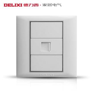 【德力西】网络插座面板