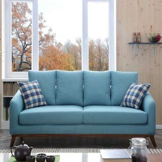 【奥左】欧式沙发法式田园实木雕花组合沙发az880