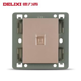 【德力西】网线插座面板