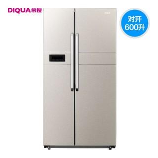恩布拉科变频 风冷无霜电冰箱bcd-600wdbz