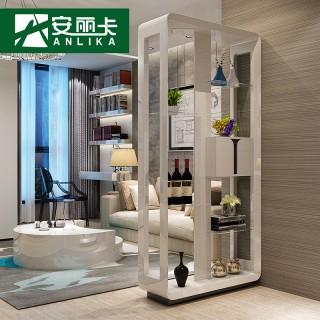 酒柜隔断客厅装饰柜玻璃玄关门厅柜酒架多层置物架