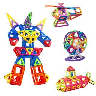 【娃娃博士】早教益智磁力片积木